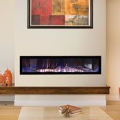 Don't let your dreams be broken, the Empire Boulevard Ventless Linear Gas Fireplace 60 Direct Vent Gas Fireplace, Vented Gas Fireplace, Linear Fireplace, Fireplace Inserts, Fireplace Ideas, Electric Fireplace, Airstone Fireplace, Mantel Ideas, Fireplace Design