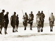 Stuart Redler:  Massai dance
