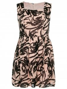 Peach Square Neck Dress by Desireclothing on CurvyMarket.com Plus Size