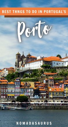 If you travel to Portugal, don't miss all these incredible things to do in Porto! #porto #portugal