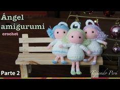 Come fare angioletto a uncinetto (amigurumi)- Video Tutorial. |