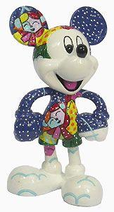 Mickey Mouse - Mickey Winter Figurine - Romero Britto - World-Wide-Art.com - $27.50