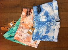 Tie dye, studs and shorts  SS13