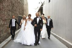 REAL WEDDINGS: NICK & ROSA   Couturing.com