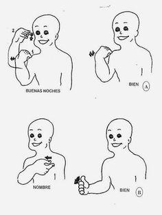 INTRODUCCIÓN                 Esta Manual de Lengua de Señas Chilena, está dedicado a los estudiantes del Departamento de Educación Diferenci... Sign Language Phrases, Vocabulary, Coding, Education, Signs, Sign Language, Sign Language Alphabet, Writing, Learn Sign Language