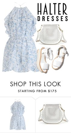 """""""Halter dress"""" by mareehamasood246 on Polyvore featuring Zimmermann, Paloma Barceló, Cynthia Rowley and halterdresses"""