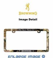License Plate Frame - Car Truck SUV - Browning Buckmark Camo