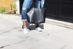 black tote bag Black Tote Bag, Madewell, Bags, Style, Fashion, Handbags, Swag, Moda, Fashion Styles