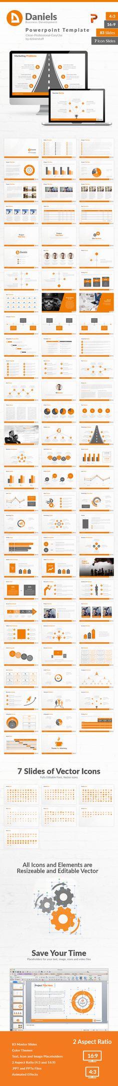 Daniels Powerpoint Presentation Template - Business PowerPoint Templates
