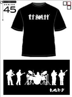 Dave Matthews Band Silhouette T Shirt by RED5LLC on Etsy, $15.00