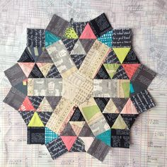 It needs a name! (english paper pieced)