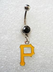 pittsburgh pirates belly button ring - Google Search