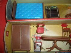 Big Lot of Blue Box Dollhouse Furniture Original Box 6 Rooms Mixed Lot   eBay