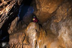 Caving at mt Othrys, Greece