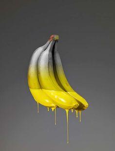 26 Ideas Fruit Photography Banana Art For 2019 Fruit Photography, Still Life Photography, Abstract Photography, Street Photography, Product Photography, Digital Photography, Banana Art, Foto Real, Illustration