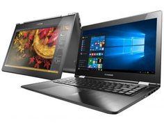 "Notebook 2 em 1 Lenovo Yoga 500 Intel Core i3 - 4GB 500GB LED 14"" Touch Screen Windows 10"