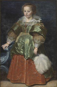 ab. 1633-1635 Cornelis de Vos - Portrait of a Young Girl