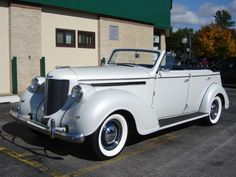 1938 Chrysler Imperial 4 Door Convertible. Only 103 of these were ever built and only 3 exist today. This particular car is equipped with a 351 Ford engine and automatic transmission. Cruises at highway speeds at ease. Tires are diamond back radials that are new. It was one of the cars featured at Jay Leno's garage. Starting bid $39,900