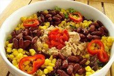 ΤΟΝΟΣΑΛΑΤΑ Salad Bar, Cobb Salad, Appetisers, Salad Recipes, Salads, Food And Drink, Veggies, Beef, Fitness