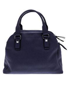 Le sac cuir idoya navy de Georges Rechv