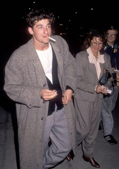 The 25 Best Photos Of Patrick Dempsey Beautiful Boys, Pretty Boys, Beautiful People, 80s Fashion Men, 80s Fashion Icons, Mode Dope, Bcbg, Poses References, Fine Men