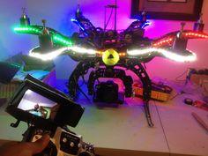 SkyCamUsa X6 Hexacopter