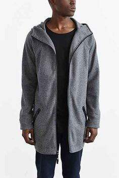 Feathers Double Knit Hooded Parka - Urban Outfitters