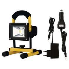 Proiectoare REFLECTOR CU LED CU ACUMULATOR 10W 6000K ZS1720 EMOS.ZS1720 Led