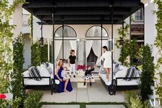 Khloé and Kourtney Kardashian Realize Their Dream Homes in California | Architectural Digest