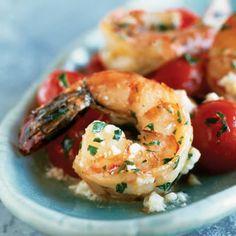 com shrimp with cherry tomatoes and feta shrimp with cherry tomatoes ...