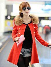 Vrouwen Koreaanse schede Tweed Coat – EUR € 25.24