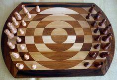 Singularity chess board -- pieces can make u-turns