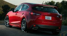 Jen když design udělá hopla z Opla (ilustrace) Mazda 3 Hatchback, Mazda Mazda3, Mazda 3 Mps, Mazda 3 Sport, Mazda Cars, Car Hd, Cars And Motorcycles, Dream Cars, Super Cars