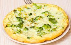 Receita de Omelete com Brócolis. Incremente seu omelete com brócolis! Além de delicioso ficará nutritivo.