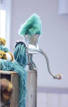How to make yarn  --  Amazing!