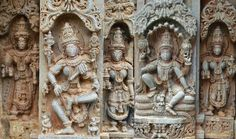 Hoysala Sculpture - Trekking and Travelling in Western Ghats: Keshava Temple –Aralaguppe