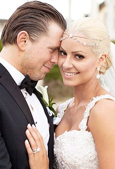 On February Mike Mizanin married his girlfriend Maryse Ouellet… Nxt Divas, Total Divas, Maryse Wwe, The Miz And Maryse, Wrestlemania 29, Maryse Ouellet, Wwe Couples, Hollywood Wedding, Wrestling Wwe