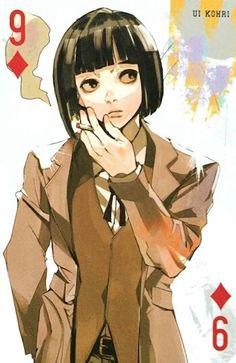 Ui ~ 9 of Diamonds ~ Tokyo Ghoul trump cards
