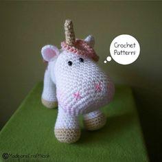 Luna the unicorn por madisonscraftnook en Etsy
