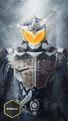 Kamen Rider Gaim With Blizzard Action Edit: Photoshop Facebook: Bagus yudha