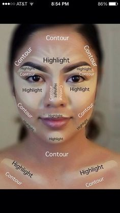 Basic Contouring! Self Explained! (please like when saving)