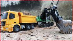 Excavator For Children | Truck For Kids | Truck Car | Video For Kids | Kids World | Bored Panda