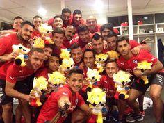 La roja de CHILE!!!!!