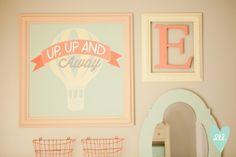Hot Air Balloon Nursery designed by Mollie Openshaw. DesignLovesDetail.com!