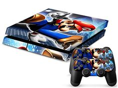 awesome Designer Vinyl Skin Action and Adventure Game Decal for PlayStation PS4 Console and 2 Free Controller Stickers (Brothers Video Game 038) (1) PS4 slim skin and (2) controller skins (gaming system not included) We have all the new decals for Sony's PS4 console. These skins are made with q... http://gameclone.com.au/accessories/designer-vinyl-skin-action-and-adventure-game-decal-for-playstation-ps4-console-and-2-free-controller-stickers-brothers-video-game-038/