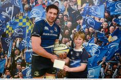 Kevin McLaughlin is presented with the Man of the Match award, sponsored by Best Menswear - Official Clothing Supplier to Leinster Rugby Man Of The Match, The Man, Leinster Rugby, Cool Photos, Menswear, Baseball Cards, Clothing, Sports, Outfits