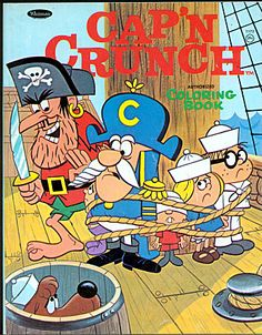 Cap'n Crunch Coloring Book (c. 1968)