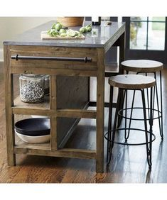 Astonishing Rustic Kitchen Island Design And Decoration Ideas - Page 44 of 49 - Making Your Dream Home a Reality Kitchen Furniture, Kitchen Decor, Kitchen Wood, Kitchen Ideas, Furniture Stores, Cheap Furniture, Discount Furniture, Luxury Furniture, Furniture Online