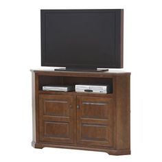 Eagle Furniture Savannah 56 In. Wide Corner TV Stand   The Eagle Furniture  Savannah 56 In. Wide Corner TV Stand Is A Great Way To Save Space While  Still ...
