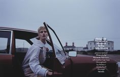 AnOther Magazine S/S 2014 | Saskia de Brauw by Vincent van de Wijngaard [Editorial]